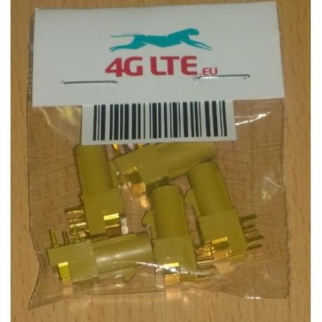 Pack de 5 x connecteur RF FAKRA-K-PCB