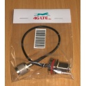 Cable Assembly 4G-RP TNC(M)-N(F)