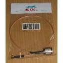 Konfektionierte Kabel, 4G-TNC M-MCX R / A M