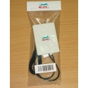 Mini 4G LTE etiqueta antena SMA extremo