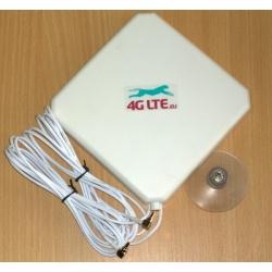 4G LTE dual, quadrato forma Antenna 7dBi con fine di CRC-9 (TS-5) x 2