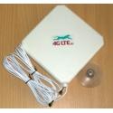 4G LTE dual, forma antena 7dBi con extremo de CRC-9 (TS-5) de x 2 cuadrada