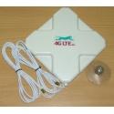 4G LTE dual, cross Shape Antenne 7dBi mit 2 X SMA Ende