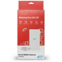 Alta calidad 3G / 4G LTE 49dBi antena - 2 x final TS-5 (CRC-9)