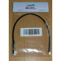 Cable Assembly Right Angle MCX Male to FME Female-black cable