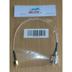 Cable Assembly TNC Male to SMA Male-gold cable