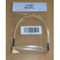 Cable Assembly SMA Female to Straight MCX Male-gold cable