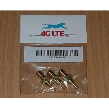 SMA hembra a adaptador de conector CRC-9 (TS-5) (3pcs)