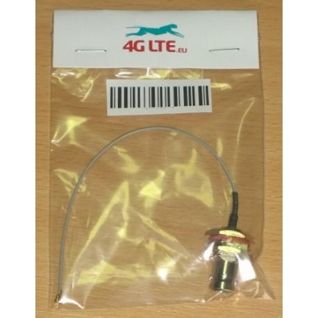 Assemblage de câble u.FL à TNC femelle de cloison