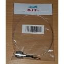 Câble de montage TNC M-MCX M ligne droite 30cm