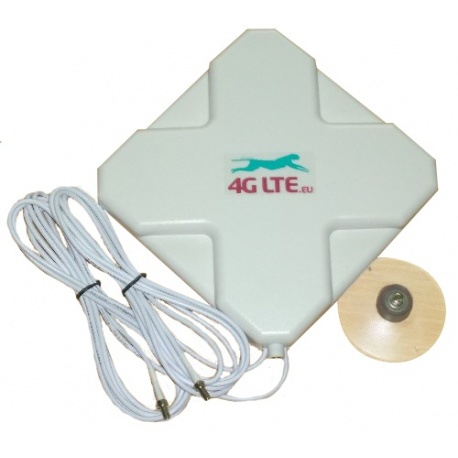 4G LTE dual, cross shape Antenna 7dBi with 2 x TS-9 end