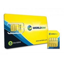 In tutto il mondo Data SIM Card per viaggi, vacanze