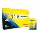 En todo el mundo tarjeta de SIM de datos para viajes, vacaciones