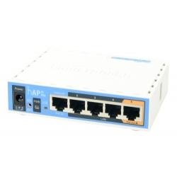 MikroTik RouterBoard hAP avec le royaume-UNI bloc d'alimentation RouterOS L4