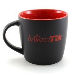 MikroTik Taza Negro/Rojo