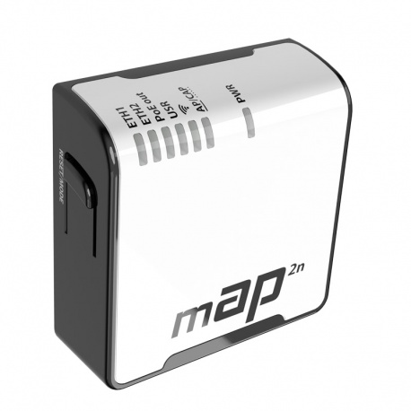 MikroTik RouterBoard mAP2nD (RouterOS Nivel 4) del reino unido con el de la fuente de alimentación