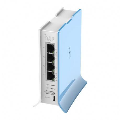 MikroTik RouterBoard hAP Lite (RouterOS Nivel 4) forma de Torre del reino unido con el de la fuente de alimentación