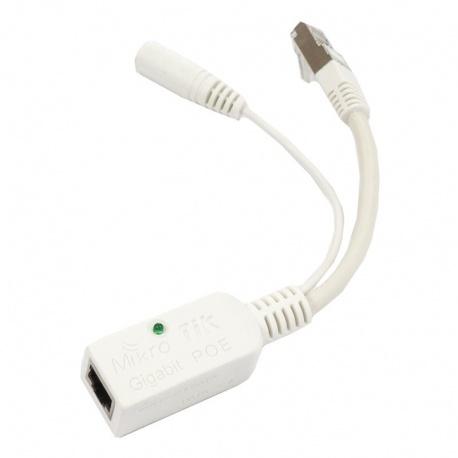 MikroTik RouterBoard Gigabit Passive PoE Inyector