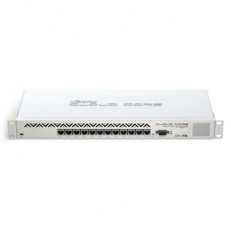MikroTik RouterBoard Cloud Core Router - 16 Core CPU - CCR1016-12G