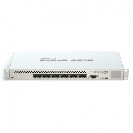 MikroTik RouterBoard Cloud Router principal - 16 Core CPU - CCR1016-12G