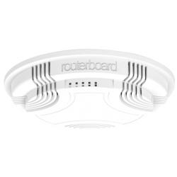MikroTik RouterBoard cAP-2e Plafond AP (RouterOS Niveau 4), royaume-UNI, bloc d'alimentation