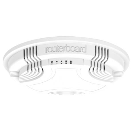 MikroTik RouterBoard cAP-2 de Techo AP (RouterOS Nivel 4) del reino unido con el de la fuente de alimentación
