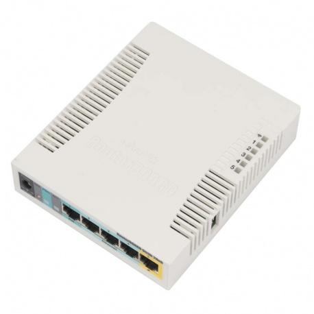 MikroTik RouterBoard 951Ui-2HnD (RouterOS Level 4) mit UK-Netzteil