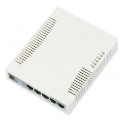MikroTik RouterBoard 260GS 5 ports Gigabit + SFP Switch administrable avec le royaume-UNI d'Alimentation