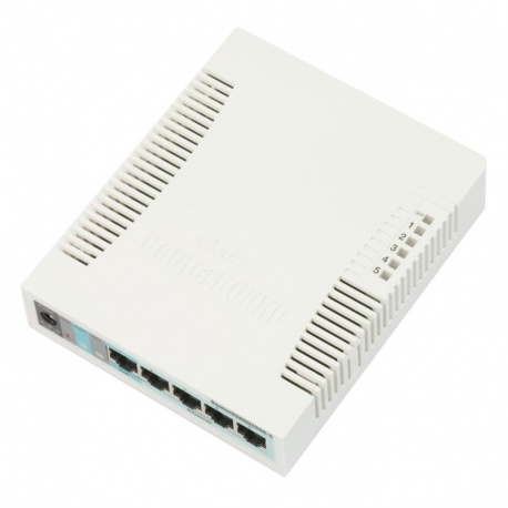 MikroTik RouterBoard 260GS 5-Port-Gigabit - + - SFP Managed Switch