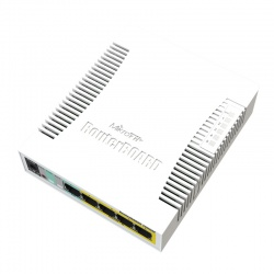 MikroTik RouterBoard 260GSP with UK PSU