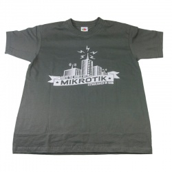 MikroTik T-shirt (Tamaño XXL)