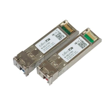 Par de bidireccional SFP 10G 10 km módulos (RB/S+23LC10D + RB/S+32LC10D)