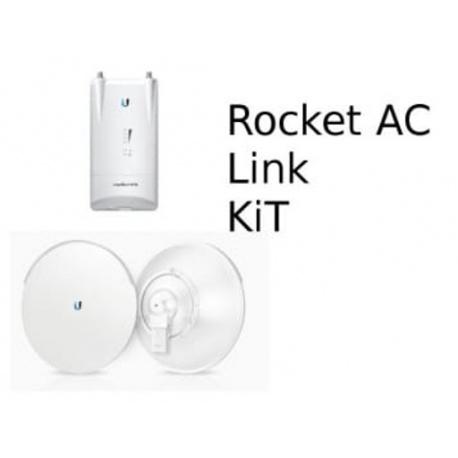 Ubiquiti airMAX Rocket M5 AC PTP Kit - de hasta 20 km HT
