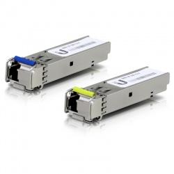 Ubiquiti Seul Mode de Module de Fibre optique 1G BiDi - UF-SM-1G-S (1 Paire)