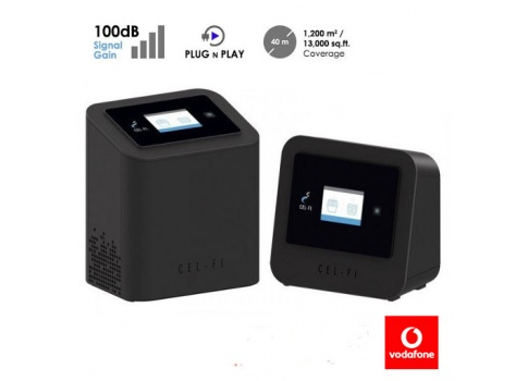 Cel-Fi PRO 3G / 4G-Signal-Booster 1/7/8/20 für Vodafon