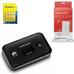 Huawei E5377Ts-32 LTE, 3560mAh, Black