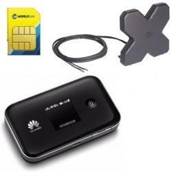Huawei E5377Ts-32 LTE, 3560mAh, Noir