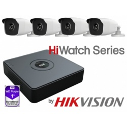 HiWatch 1TB NVR 4 X Bullet Kit
