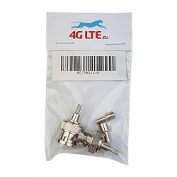 2xBNC Stecker Crimp-Stecker für RG59 Kabel