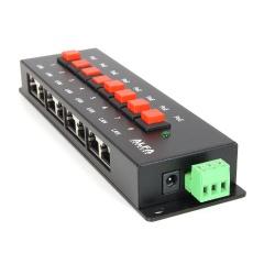 Alfa 8 puertos PoE Pasivo Inyector BTN APOE08
