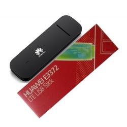 Huawei E3372h-153 4G LTE dongle, 2 x TS-5 ranura - Negro