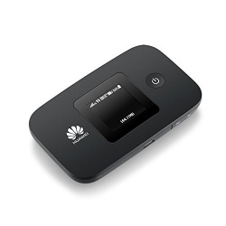 4G LTE Huawei E5377s-32 Schwarz mit 2 x TS-9 Antennenanschluss