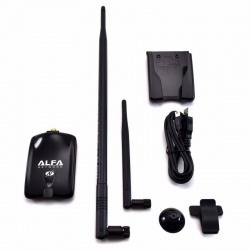 Alfa Adaptateur USB sans Fil N Atheros + Antenne 9dBi