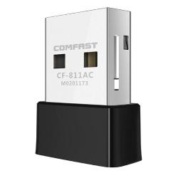 COMFAST 650Mbps Wifi Adattatore USB 2.4+5,8 GHz