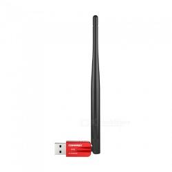 Comfast CF - WU910A sense fils USB Adapter - Roja
