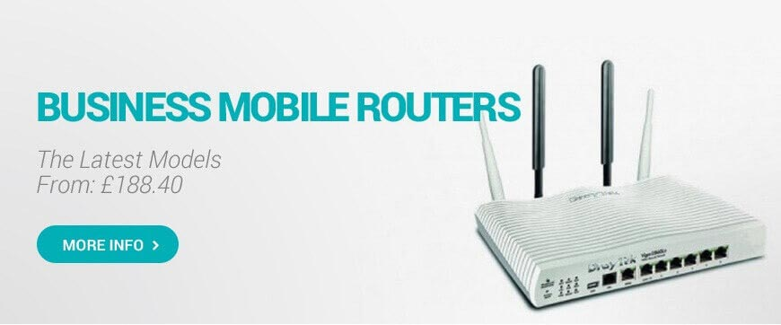 4G LTE ROUTERS WITH SMA DUAL ANTENNA OUTPUT