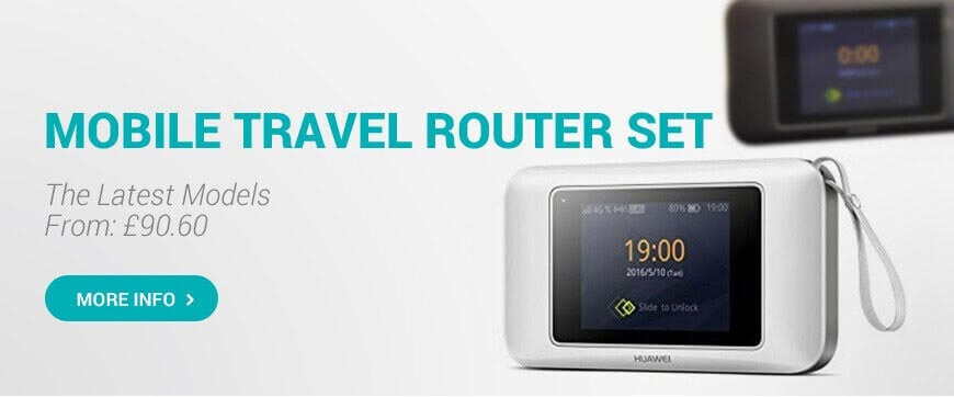 4G LTE Mobile Internet Router
